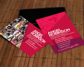 Angel Robinson – Business Cards