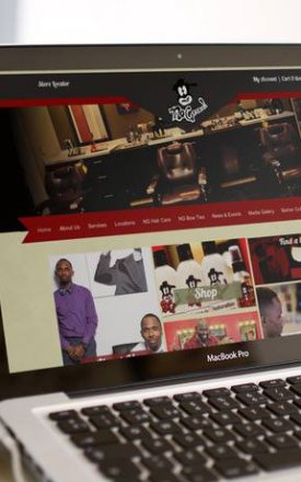 No Grease Barbershop – Website