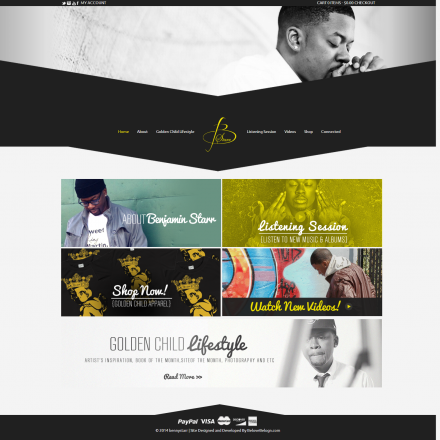 Benny Starr – Website